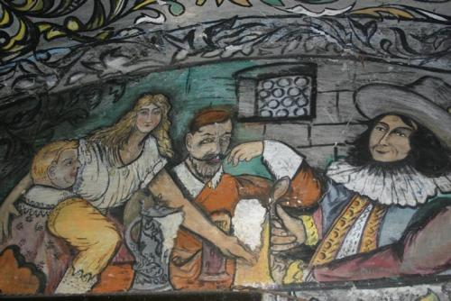 Malovaná Koláříkova hospoda